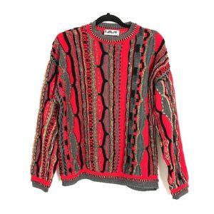 Vintage Lavane Biggie Red Sweater!